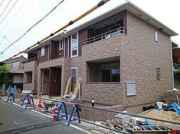サンフラット高井田[1階]の外観