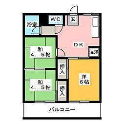 石原駅 4.5万円