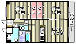エクセルアンサー[102号室]の間取り