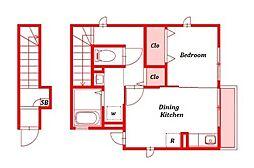 リラ大船[2階]の間取り