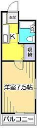 リヒテンハイム国分寺[2階]の間取り