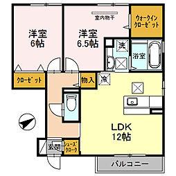 D−room 栄谷[105号室]の間取り