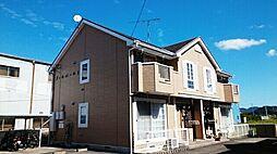 和歌山県海南市岡田の賃貸アパートの外観