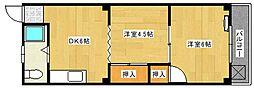 藤川ビル[302号室]の間取り