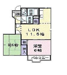 エコパレス・千種Ⅱ[1階]の間取り
