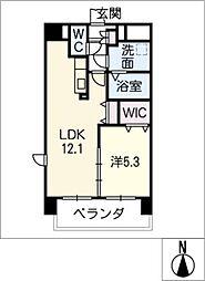 LIVE南新町[1階]の間取り