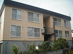 北海道札幌市北区北六条西8丁目の賃貸アパートの外観