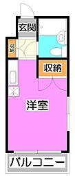L-VINA朝霞[2階]の間取り