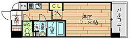 プールトゥジュール梅田ウエスト[7階]の間取り