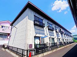 東京都東村山市秋津町5の賃貸アパートの外観