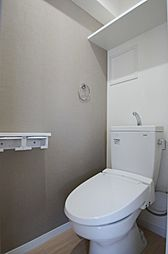 メイソン デ グレース 天神南のウォシュレット付きのトイレ