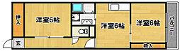 大阪府大阪市東淀川区菅原3丁目の賃貸マンションの間取り
