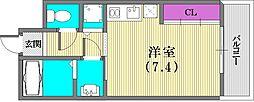 アーデンタワー神戸元町[11階]の間取り