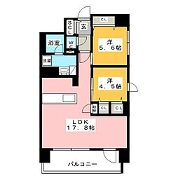 プレサンスロジェ上前津駅前[8階]の間取り