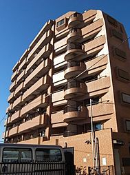 東京都大田区仲六郷3丁目の賃貸マンションの外観