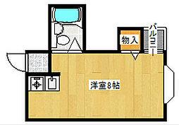 シャイン廣瀬[2階]の間取り