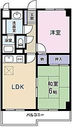 ステージ渋谷[0403号室]の間取り