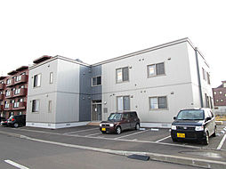 北海道札幌市北区南あいの里5丁目の賃貸アパートの外観