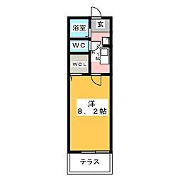 ラカモミール[1階]の間取り