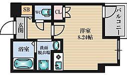 第6浦濱ビレッジ[5階]の間取り