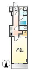 パルティール豊国通[2階]の間取り