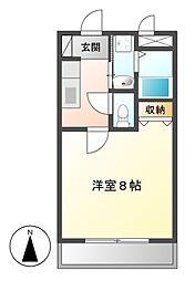 新栄サンハイツ[2階]の間取り
