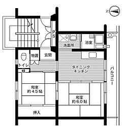 🉐敷金礼金0円!🉐ビレッジハウス柴宿2号棟