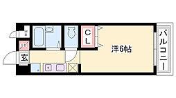 グランディール須磨[2階]の間取り