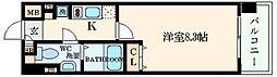 ビバーチェ鷺洲[3階]の間取り