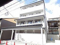 京都府京都市東山区北棟梁町の賃貸マンションの外観