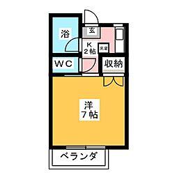 遠藤コーポ[2階]の間取り