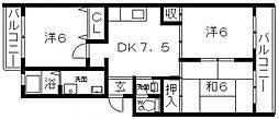 Maison KiRaRa(メゾンキララ)[201号室号室]の間取り