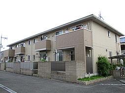 大阪府寝屋川市中神田町の賃貸アパートの外観