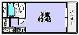 ハイツ家村[2階]の間取り
