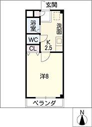 グランドール21[3階]の間取り