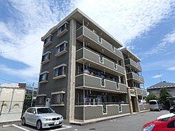 静岡県富士市十兵衛の賃貸マンションの外観