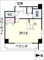ライフステージ白壁II[4階]の間取り