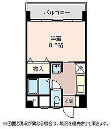 LB鴻巣駅前ビル[301号室]の間取り