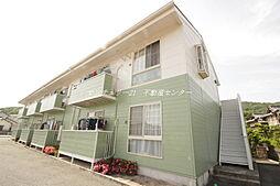 岡山県岡山市東区瀬戸町光明谷の賃貸アパートの外観
