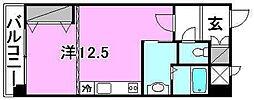 アスピラシオン[203 号室号室]の間取り
