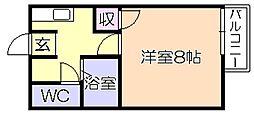 メゾン宮園[1階]の間取り