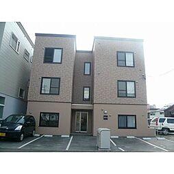 北海道札幌市豊平区豊平一条6丁目の賃貸アパートの外観