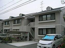 兵庫県伊丹市野間8丁目の賃貸アパートの外観
