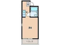 高松シルク館[2階]の間取り