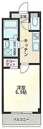 埼玉県川口市大字安行領根岸の賃貸マンションの間取り