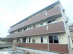 福島県郡山市富久山町久保田字南田の賃貸アパートの外観
