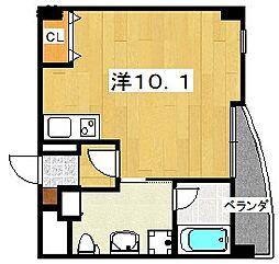 ザ・リッツクラブ桜[3階]の間取り