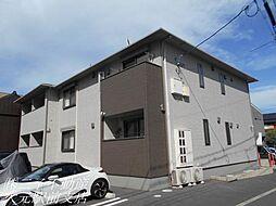 岡山県岡山市北区大供表町の賃貸アパートの外観