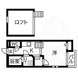 尼ヶ坂駅 5.4万円