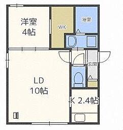 北海道札幌市中央区北二条東8丁目の賃貸マンションの間取り